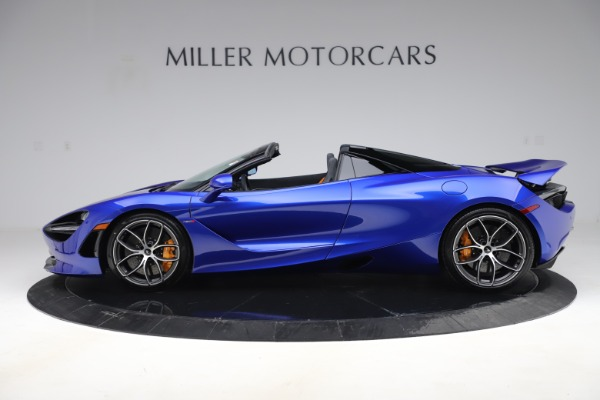 New 2020 McLaren 720S Spider for sale Call for price at Rolls-Royce Motor Cars Greenwich in Greenwich CT 06830 2