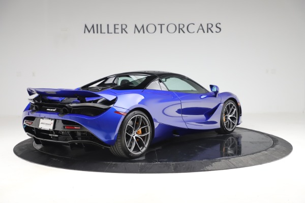 New 2020 McLaren 720S Spider Convertible for sale $364,090 at Rolls-Royce Motor Cars Greenwich in Greenwich CT 06830 22
