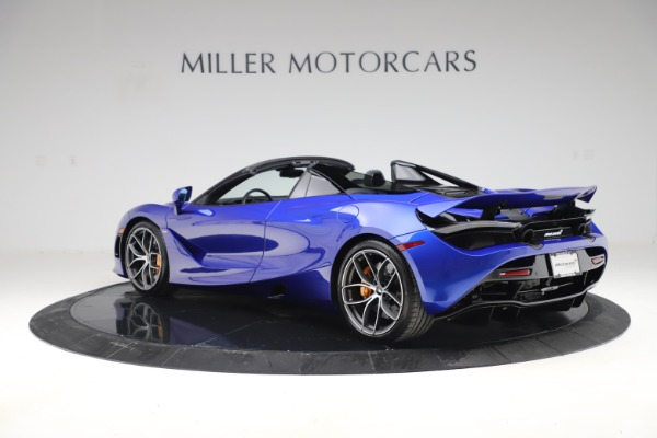 New 2020 McLaren 720S Spider Convertible for sale $364,090 at Rolls-Royce Motor Cars Greenwich in Greenwich CT 06830 3