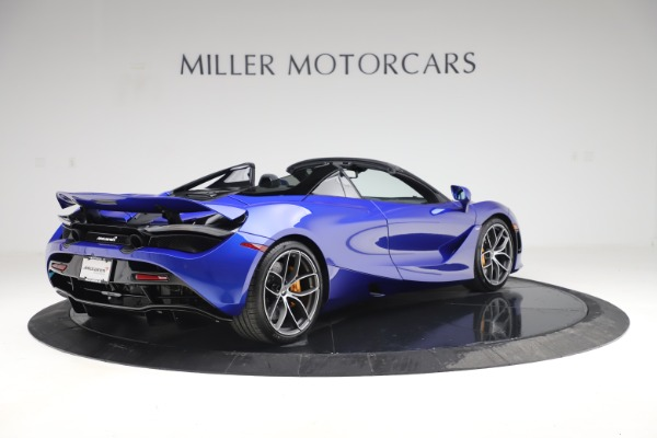 New 2020 McLaren 720S Spider Convertible for sale $364,090 at Rolls-Royce Motor Cars Greenwich in Greenwich CT 06830 5