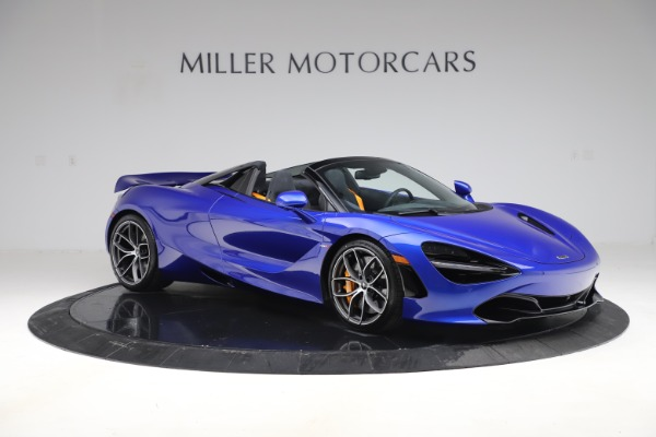 New 2020 McLaren 720S Spider for sale Call for price at Rolls-Royce Motor Cars Greenwich in Greenwich CT 06830 7