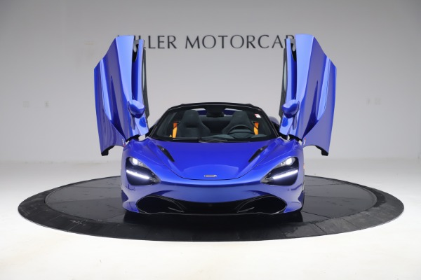 New 2020 McLaren 720S Spider for sale Call for price at Rolls-Royce Motor Cars Greenwich in Greenwich CT 06830 9