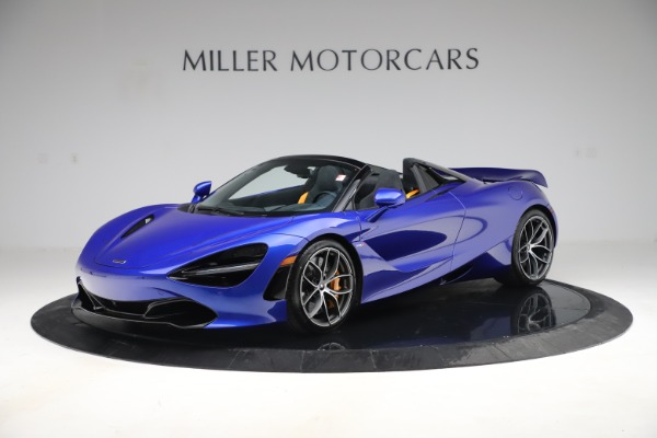 New 2020 McLaren 720S Spider Convertible for sale $364,090 at Rolls-Royce Motor Cars Greenwich in Greenwich CT 06830 1