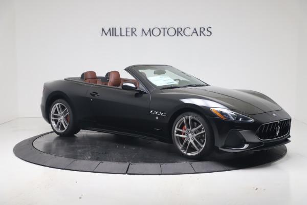New 2019 Maserati GranTurismo Sport Convertible for sale $165,645 at Rolls-Royce Motor Cars Greenwich in Greenwich CT 06830 10