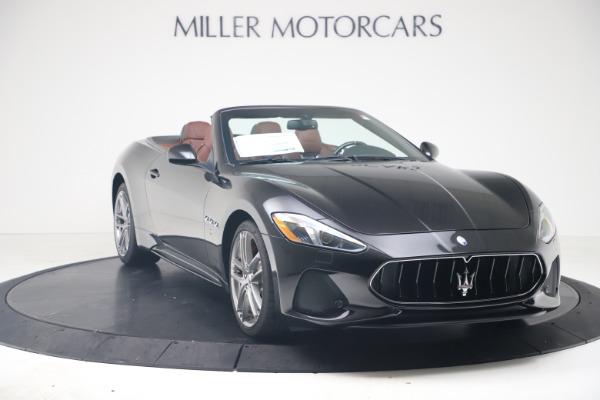 New 2019 Maserati GranTurismo Sport Convertible for sale $165,645 at Rolls-Royce Motor Cars Greenwich in Greenwich CT 06830 11
