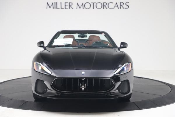 New 2019 Maserati GranTurismo Sport Convertible for sale $165,645 at Rolls-Royce Motor Cars Greenwich in Greenwich CT 06830 12