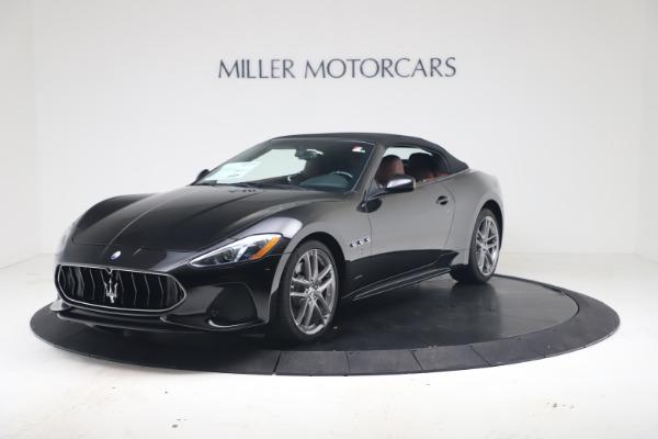 New 2019 Maserati GranTurismo Sport Convertible for sale $165,645 at Rolls-Royce Motor Cars Greenwich in Greenwich CT 06830 13