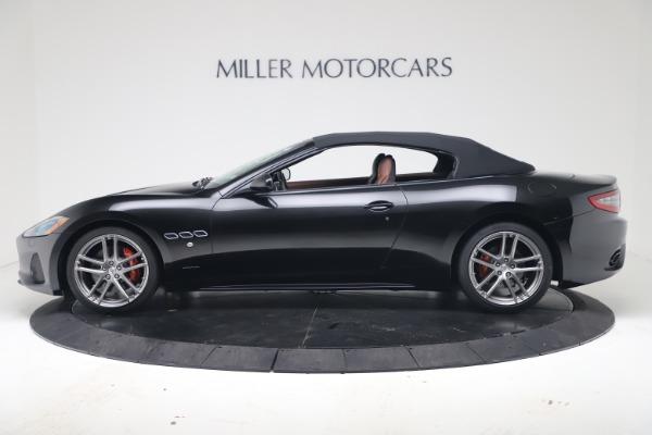 New 2019 Maserati GranTurismo Sport Convertible for sale $165,645 at Rolls-Royce Motor Cars Greenwich in Greenwich CT 06830 14