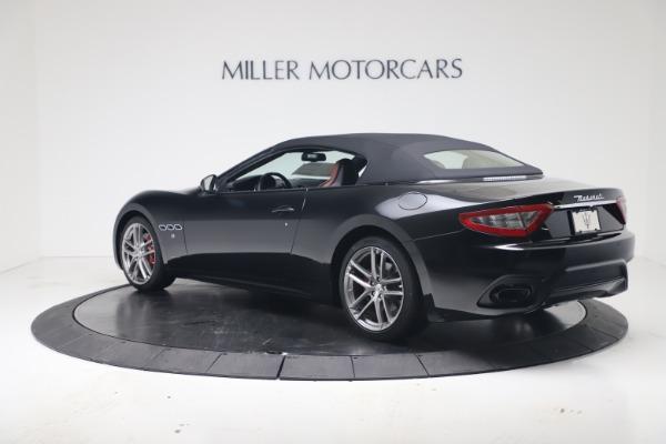 New 2019 Maserati GranTurismo Sport Convertible for sale $165,645 at Rolls-Royce Motor Cars Greenwich in Greenwich CT 06830 15