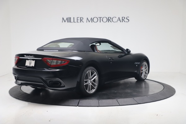 New 2019 Maserati GranTurismo Sport Convertible for sale $165,645 at Rolls-Royce Motor Cars Greenwich in Greenwich CT 06830 16
