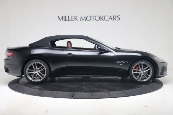 New 2019 Maserati GranTurismo Sport Convertible for sale $165,645 at Rolls-Royce Motor Cars Greenwich in Greenwich CT 06830 17