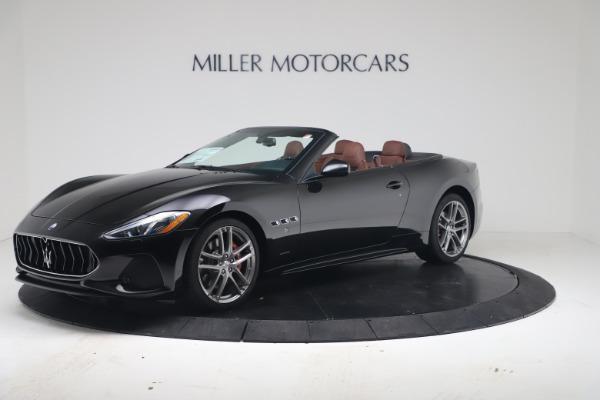New 2019 Maserati GranTurismo Sport Convertible for sale $165,645 at Rolls-Royce Motor Cars Greenwich in Greenwich CT 06830 2