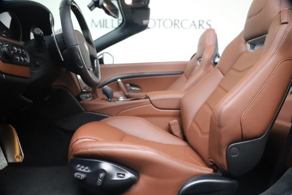 New 2019 Maserati GranTurismo Sport Convertible for sale $165,645 at Rolls-Royce Motor Cars Greenwich in Greenwich CT 06830 20