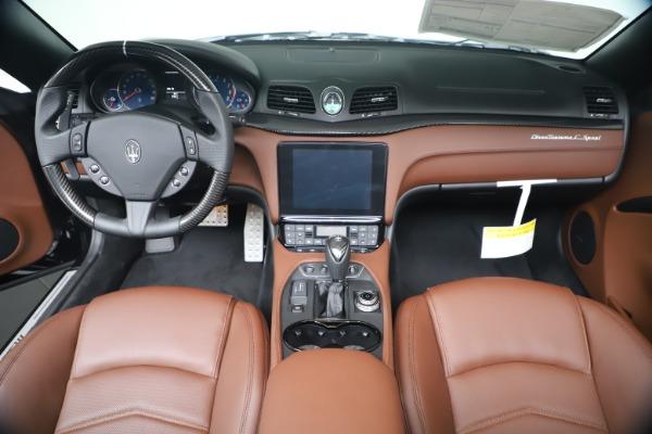 New 2019 Maserati GranTurismo Sport Convertible for sale $165,645 at Rolls-Royce Motor Cars Greenwich in Greenwich CT 06830 22