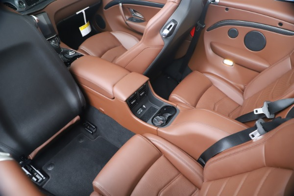 New 2019 Maserati GranTurismo Sport Convertible for sale $165,645 at Rolls-Royce Motor Cars Greenwich in Greenwich CT 06830 25