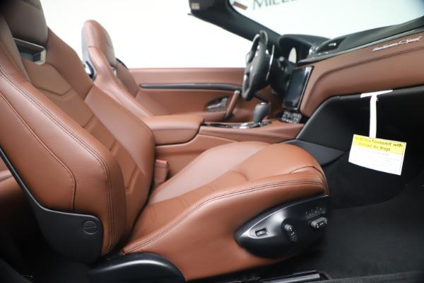 New 2019 Maserati GranTurismo Sport Convertible for sale $165,645 at Rolls-Royce Motor Cars Greenwich in Greenwich CT 06830 27