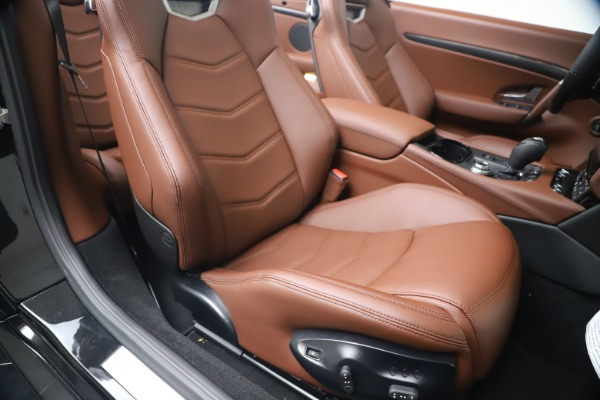 New 2019 Maserati GranTurismo Sport Convertible for sale $165,645 at Rolls-Royce Motor Cars Greenwich in Greenwich CT 06830 28