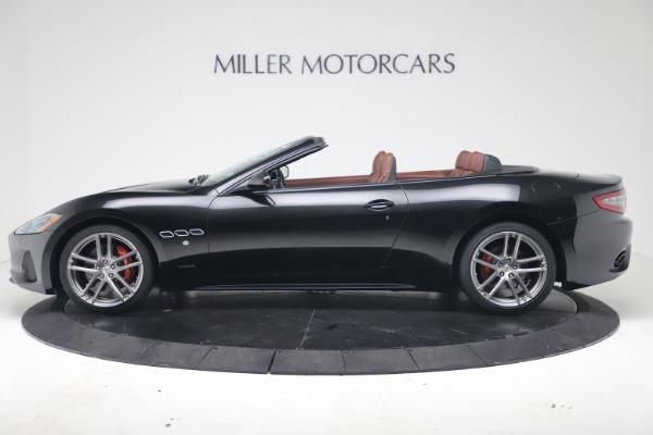 New 2019 Maserati GranTurismo Sport Convertible for sale $165,645 at Rolls-Royce Motor Cars Greenwich in Greenwich CT 06830 3