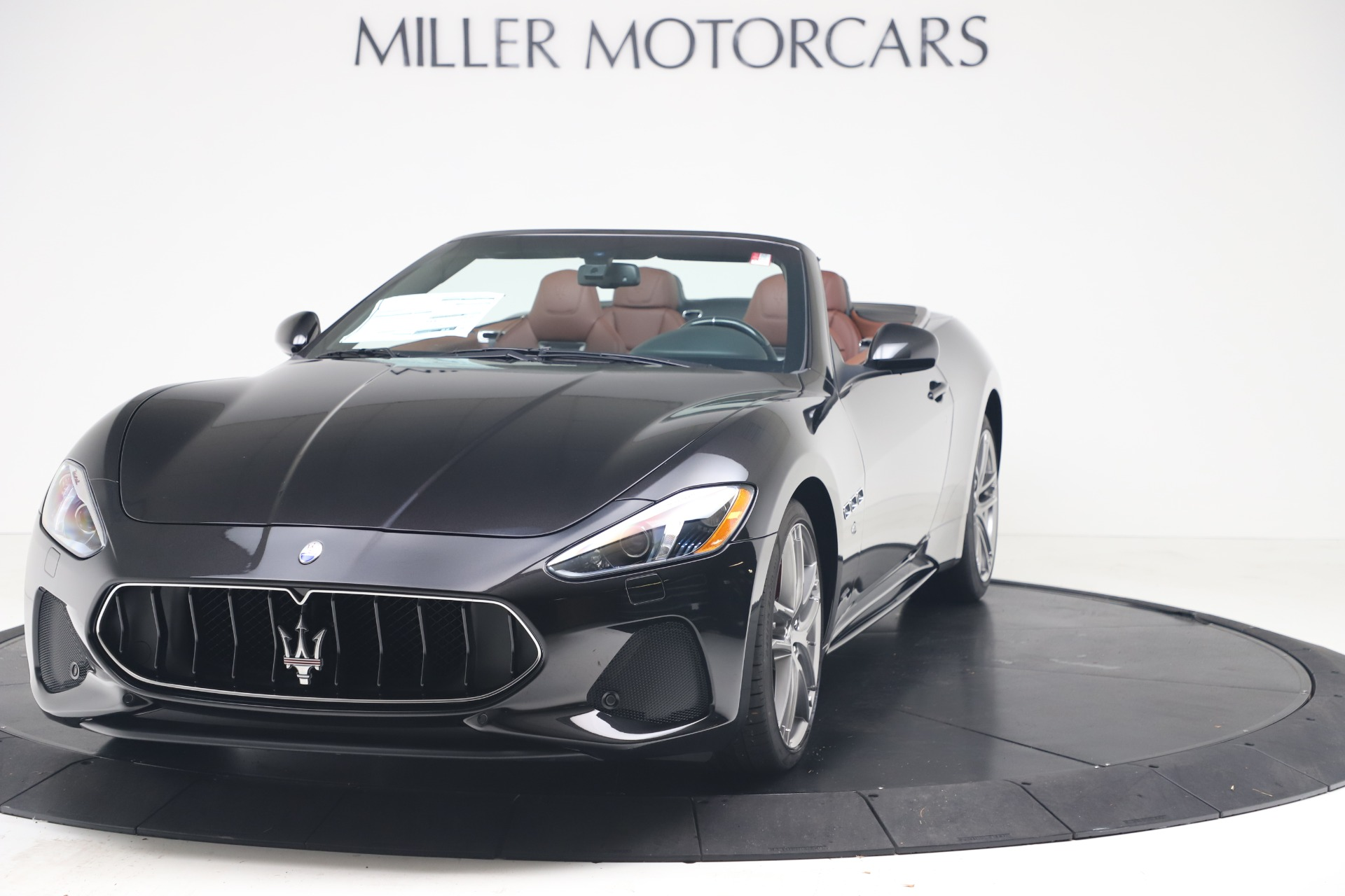 New 2019 Maserati GranTurismo Sport Convertible for sale $165,645 at Rolls-Royce Motor Cars Greenwich in Greenwich CT 06830 1