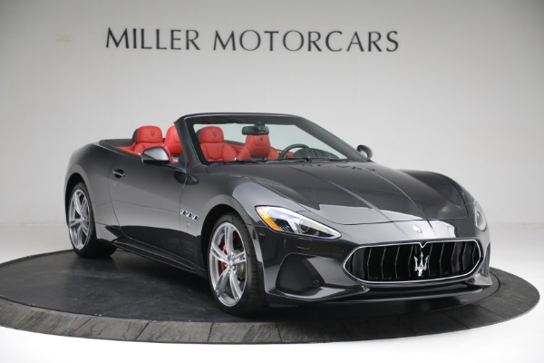 New 2019 Maserati GranTurismo Sport Convertible for sale $165,340 at Rolls-Royce Motor Cars Greenwich in Greenwich CT 06830 10