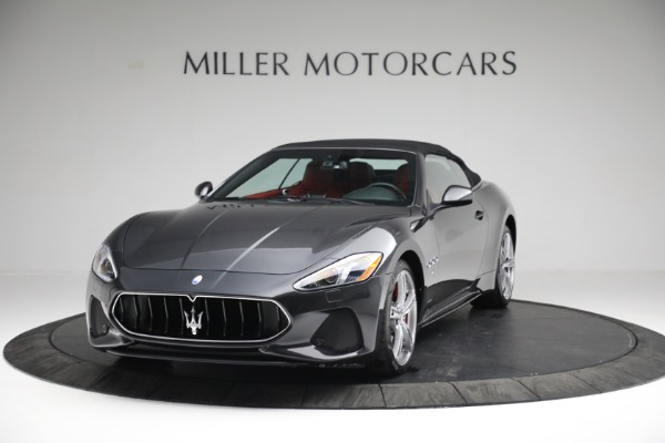 New 2019 Maserati GranTurismo Sport Convertible for sale $165,340 at Rolls-Royce Motor Cars Greenwich in Greenwich CT 06830 12