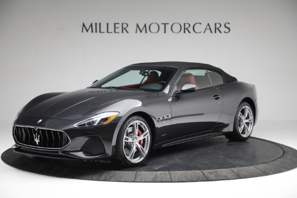 New 2019 Maserati GranTurismo Sport Convertible for sale $165,340 at Rolls-Royce Motor Cars Greenwich in Greenwich CT 06830 13