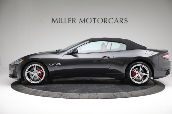 New 2019 Maserati GranTurismo Sport Convertible for sale $165,340 at Rolls-Royce Motor Cars Greenwich in Greenwich CT 06830 14
