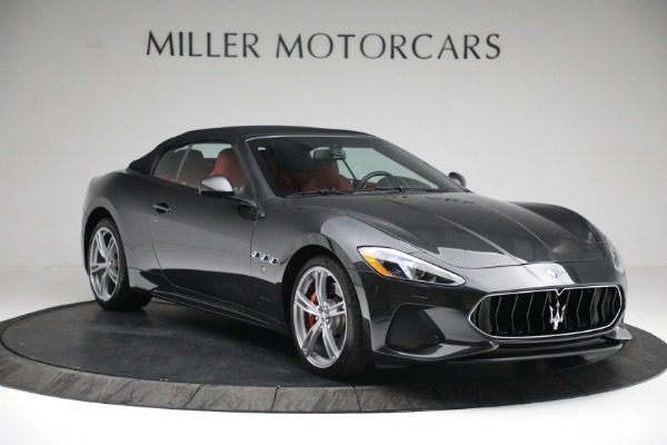New 2019 Maserati GranTurismo Sport Convertible for sale $165,340 at Rolls-Royce Motor Cars Greenwich in Greenwich CT 06830 22