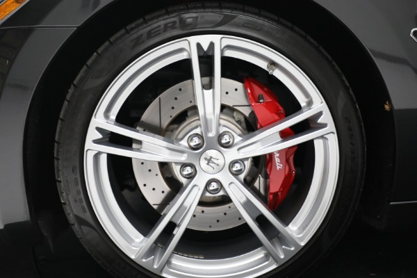New 2019 Maserati GranTurismo Sport Convertible for sale $165,340 at Rolls-Royce Motor Cars Greenwich in Greenwich CT 06830 24