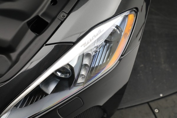 New 2019 Maserati GranTurismo Sport Convertible for sale $165,340 at Rolls-Royce Motor Cars Greenwich in Greenwich CT 06830 26