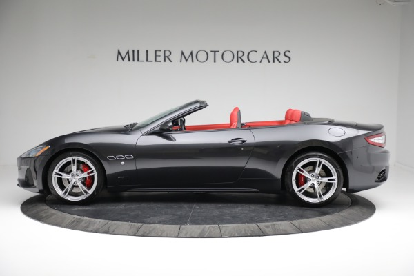 New 2019 Maserati GranTurismo Sport Convertible for sale $165,340 at Rolls-Royce Motor Cars Greenwich in Greenwich CT 06830 3