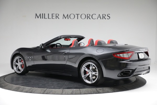 New 2019 Maserati GranTurismo Sport Convertible for sale $165,340 at Rolls-Royce Motor Cars Greenwich in Greenwich CT 06830 4