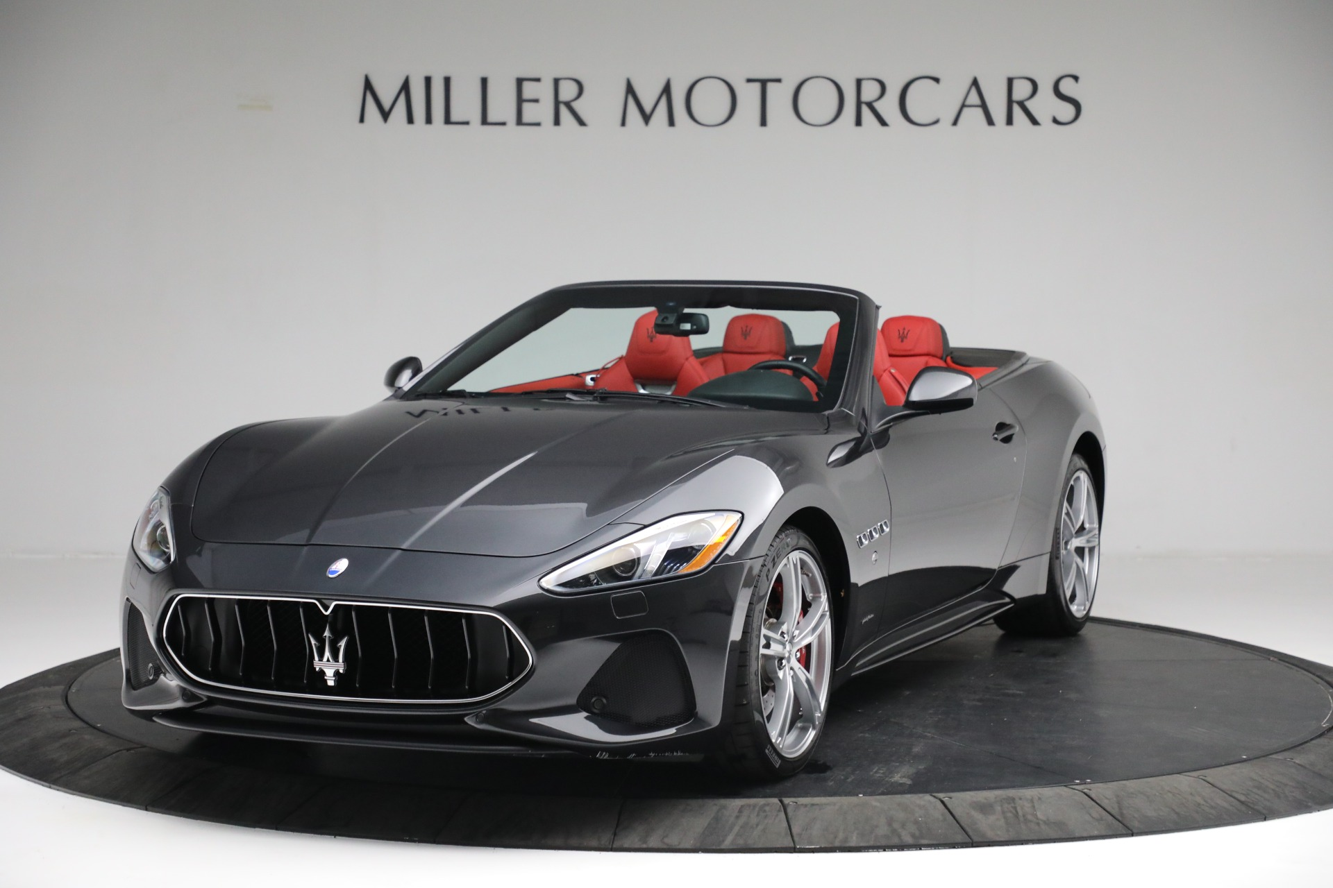New 2019 Maserati GranTurismo Sport Convertible for sale $165,340 at Rolls-Royce Motor Cars Greenwich in Greenwich CT 06830 1