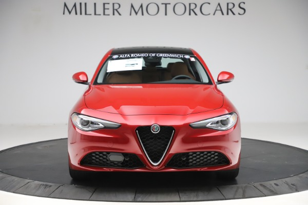 New 2019 Alfa Romeo Giulia Ti Lusso Q4 for sale Sold at Rolls-Royce Motor Cars Greenwich in Greenwich CT 06830 12
