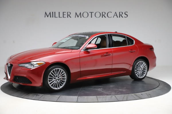 New 2019 Alfa Romeo Giulia Ti Lusso Q4 for sale Sold at Rolls-Royce Motor Cars Greenwich in Greenwich CT 06830 2