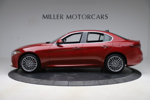 New 2019 Alfa Romeo Giulia Ti Lusso Q4 for sale Sold at Rolls-Royce Motor Cars Greenwich in Greenwich CT 06830 3