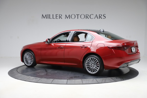 New 2019 Alfa Romeo Giulia Ti Lusso Q4 for sale Sold at Rolls-Royce Motor Cars Greenwich in Greenwich CT 06830 4