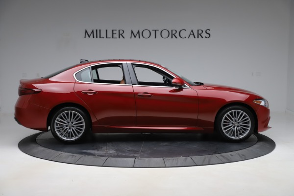 New 2019 Alfa Romeo Giulia Ti Lusso Q4 for sale Sold at Rolls-Royce Motor Cars Greenwich in Greenwich CT 06830 9