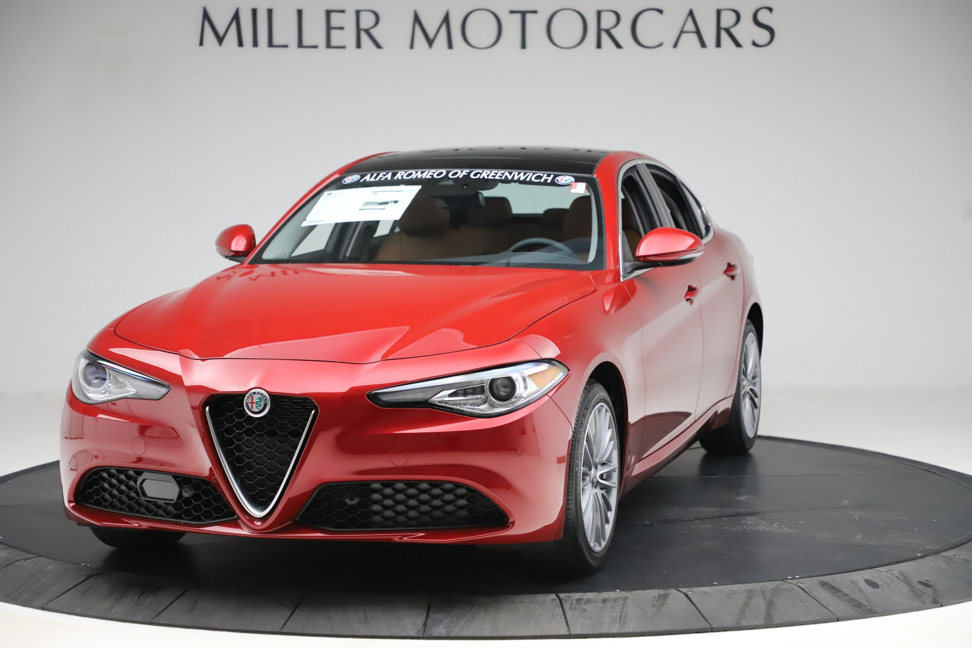 New 2019 Alfa Romeo Giulia Ti Lusso Q4 for sale Sold at Rolls-Royce Motor Cars Greenwich in Greenwich CT 06830 1