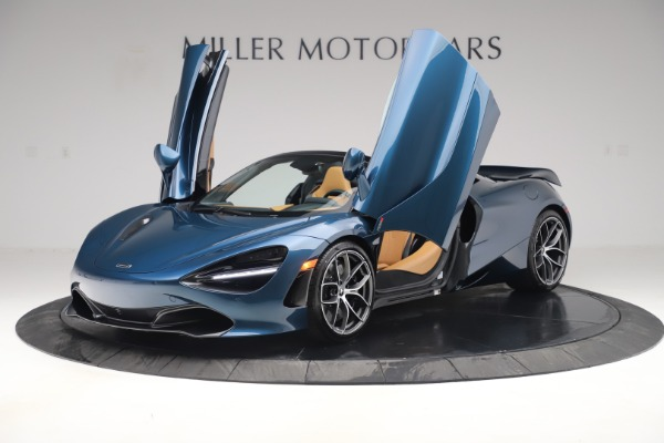 New 2020 McLaren 720S Spider Luxury for sale $380,835 at Rolls-Royce Motor Cars Greenwich in Greenwich CT 06830 13