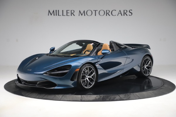 New 2020 McLaren 720S Spider Luxury for sale $380,835 at Rolls-Royce Motor Cars Greenwich in Greenwich CT 06830 1