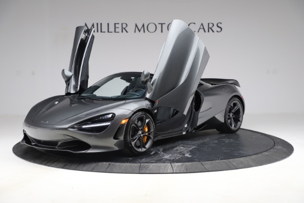 New 2020 McLaren 720S Spider Convertible for sale $332,570 at Rolls-Royce Motor Cars Greenwich in Greenwich CT 06830 10