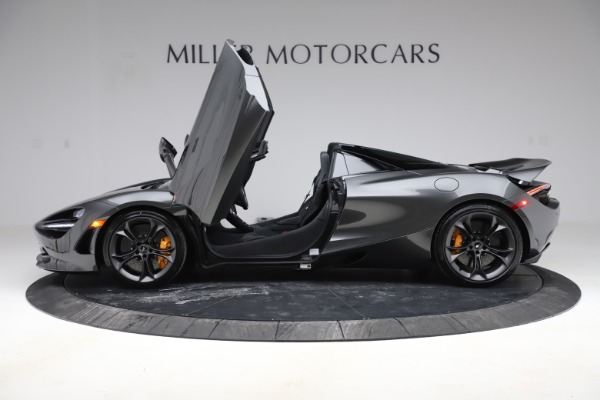 New 2020 McLaren 720S Spider Convertible for sale $332,570 at Rolls-Royce Motor Cars Greenwich in Greenwich CT 06830 11