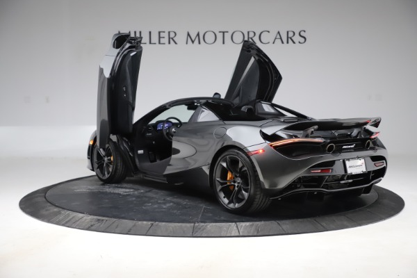New 2020 McLaren 720S Spider Convertible for sale $332,570 at Rolls-Royce Motor Cars Greenwich in Greenwich CT 06830 12
