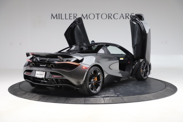 New 2020 McLaren 720S Spider Convertible for sale $332,570 at Rolls-Royce Motor Cars Greenwich in Greenwich CT 06830 14