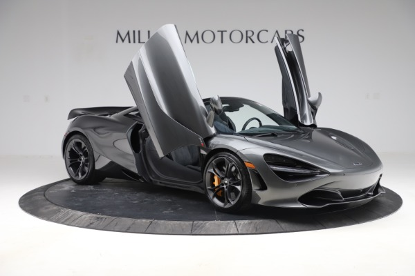 New 2020 McLaren 720S Spider Convertible for sale $332,570 at Rolls-Royce Motor Cars Greenwich in Greenwich CT 06830 16