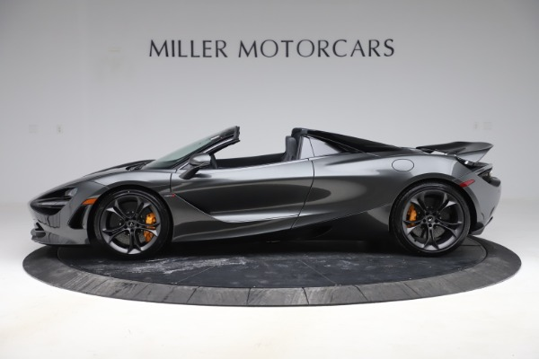 New 2020 McLaren 720S Spider Convertible for sale $332,570 at Rolls-Royce Motor Cars Greenwich in Greenwich CT 06830 2
