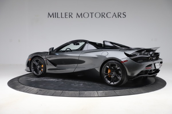 New 2020 McLaren 720S Spider Convertible for sale $332,570 at Rolls-Royce Motor Cars Greenwich in Greenwich CT 06830 3