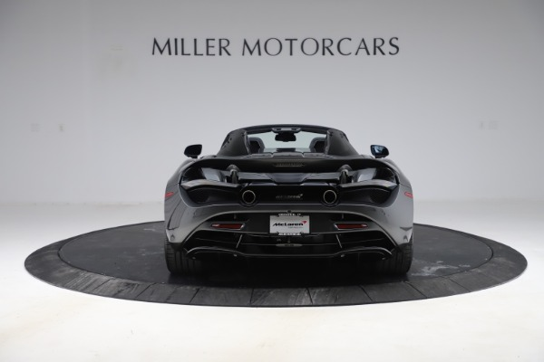 New 2020 McLaren 720S Spider Convertible for sale $332,570 at Rolls-Royce Motor Cars Greenwich in Greenwich CT 06830 4