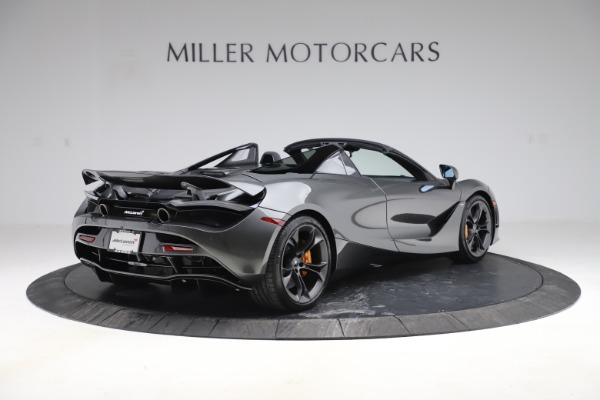 New 2020 McLaren 720S Spider Convertible for sale $332,570 at Rolls-Royce Motor Cars Greenwich in Greenwich CT 06830 5